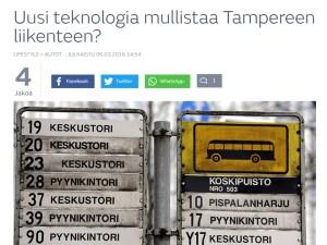 IoT mullistaa liikenteen