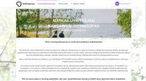 Visit Finland kansainvälistumisopas matkailuyritykselle e-learning ympäristö