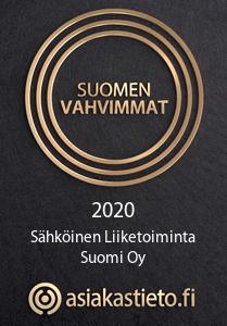 Suomen vahvimmat Sähköinen Liiketoiminta Suomi Oy - Kirsi Mikkola
