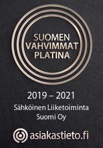 Suomen vahvimmat Platina - Sähköinen Liiketoiminta Suomi Oy - Kirsi Mikkola